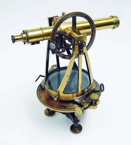 "Theodolite  Catalogue number: PH*316530  Inscriptions: ""Wm. Würdemann, Washington, D.C. No 163"""
